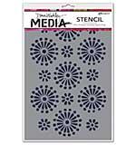 Dina Wakley Media Stencils 6x9 - Daisies