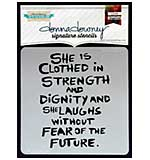 Donna Downey Signature Stencils 8.5x8.5 - She Is