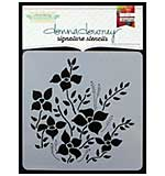 PRE: Donna Downey Signature Stencils 8.5x8.5 - Flower Bed