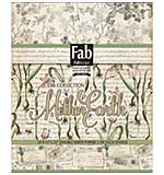 FabScraps Double-Sided Cardstock Pad 12x12 24pk - Mother Earth, 8 Designs