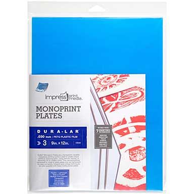 Impress Monoprint Plates (9x12, 3pk)