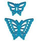 Joy! Crafts Cut and Emboss Dies - Butterflies, 1x.75 and 1.625x1.25