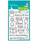 Lawn Fawn Clear Stamps 4x6 - Baked With Love