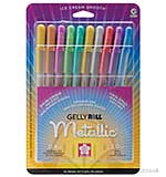 Gelly Roll Metallic Medium Point Pens Set 10 Pack