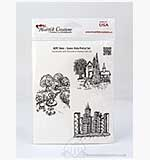 Heartfelt Creations Pre-cut Stamps - Scenic Vista