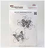 Heartfelt Creations Pre-Cut Stamps - Butterfly Medley