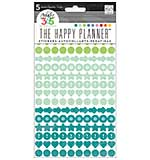 Create 365 - Colourful Dots - Planner Stickers (5 Sheets)