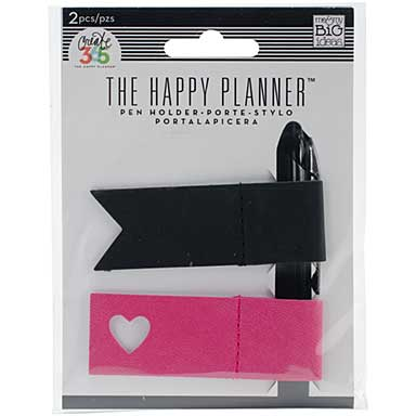 Create 365 Happy Planner Pen Holder 2pk - Pink and Black