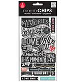 Chipboard Value Pack - Chalk Sweet Memories
