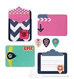 Thinlits Die Set 13PK - Pocket Card and Geo Tags