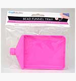 Small Bead and Powder Funnel Tray with Screw Cap