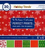 Perfect Prints Stack Packs - Tis the Season (6x6 30 Assorted Sheets)