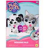Plush Craft Fabric Fun Kit Pawsome Pals - Dog and Cat (2pk)