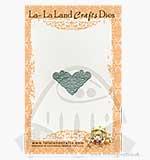 La-La Land Craft Cutting Dies - Filigree Corner Die