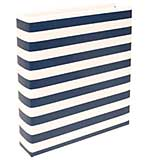 Project Life Printed D-Ring Album - Navy Stripe (6x8)
