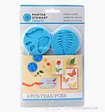 Martha Stewart Crafters Clay Silicone Molds 4pk - Garden