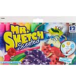 Mr.Sketch Scented Marker Set 12pk - Chisel