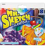 Mr.Sketch Scented Watercolor Marker Set 8pk - Chisel