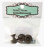 Hobby House Hardware Findings Royal Drawer Knobs