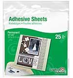 Permanent Adhesive Sheets 12x12 (25pk) from Scrapbook Adhesives