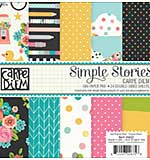SO: Simple Stories Paper Pad 6x6 - Carpe Diem (24 sheets, Double Sided)