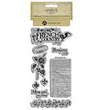 SO: Graphic 45 Hampton Art Cling Stamp Set - French Country One (9)