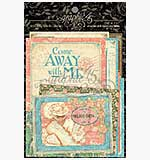 Graphic 45 - Come Away with Me - Journaling and Ephemera Car
