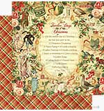 Graphic 45 12x12 Paper 12 Days of Christmas The Twelve Days of C