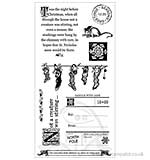 Graphic 45 Hampton Art Cling Stamp Set Night Before Christmas #3