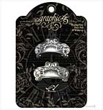 Graphic 45 - Shabby Chic Door Pulls 2PK