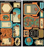 Graphic 45 - Steampunk Spells - Tags and Pockets