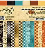 Graphic 45 - 6x6 Paper Pad - Steampunk Spells