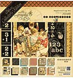 Graphic 45 Deluxe Collectors Edition Pack 12x12 - ABC Primer