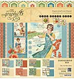 Graphic 45 Paper Pad 12x12 24pk - Home Sweet Home