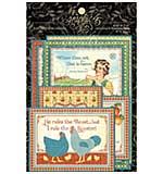 Home Sweet Home Ephemera Cards 4x6 32pk