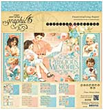 Graphic 45 Paper Pad 8x8 24pk - Precious Memories