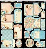 Precious Memories Cardstock Die-Cuts 6x12 Sheets 2pk - Tags and