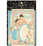 Precious Memories Ephemera Cards 4x6 32pk