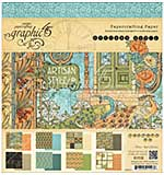 Graphic 45 Paper Pad 8x8 24pk - Artisan Style