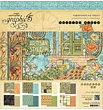 Graphic 45 Paper Pad 12x12 24pk - Artisan Style