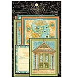 Artisan Style Ephemera Cards 4x8 32pk