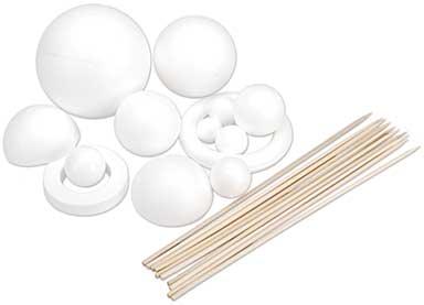 SO: SmoothFoam Solar System Kit - White
