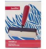 SO: Speedball Brayer Fixed Roller (4 inch wide) - Soft Rubber