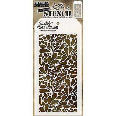 Tim Holtz Layered Stencil - Splash