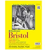 Strathmore Bristol Vellum Paper Pad 9x12 - 20 Sheets