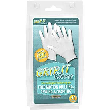 SO: Grip Gloves For Free Motion Quilting - Medium
