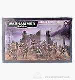 Warhammer 40000 Cadian Shock Troops (10 Models)