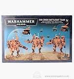 Warhammer 40000 XV8 Crisis Battlesuit Team (9 Models)