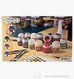 Citadel Hobby Starter Set (13 Paints Plastic Glue Grass Tufts Cu