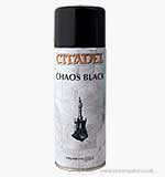 Citadel Spray Paint Chaos Black Undercoat